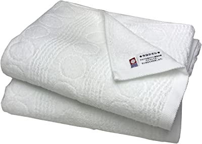 IMシリーズ 今治ブランド ホテル仕様 バスタオル 2枚セット 白
