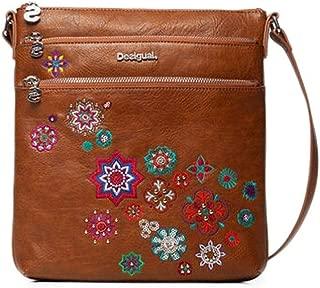 Luxury Fashion | Desigual Womens 19WAXPA0BROWN Brown Shoulder Bag | Fall Winter 19