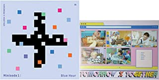 TXT Tomorrow X Together Minisode1 : Blue Hour Album (R Version) CD+Poster+Photobook+Paper Sticker+Lyric Paper+Behind Book+...