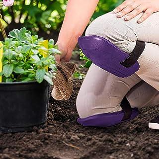 Reusable EVA Foam Cushion Hemoton 2 Pairs Gardening Knee Pads Adjustable Knee Pads Knee Guard Garden Tool Kit Lightweight Durable Random Color Waterproof