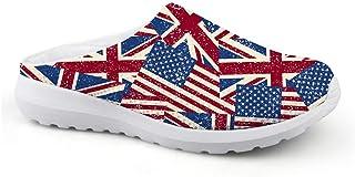 Sandalias Unisex para Adultos, diseño de la Bandera de Estados Unidos