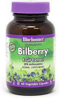 BlueBonnet Bilberry Fruit Extract Supplement, 60 Count
