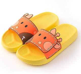 TOMORI Anime Corgi Bath Slippers 3D Ears Shower Sandal Slipper Cartoon Non-Slip Bath Shoes Couples Shoes Yellow