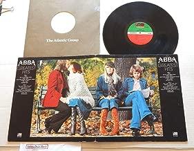 ABBA Greatest Hits - Atlantic Records 1976 - 1 Used Vinyl LP Record - 1976 Pressing SD-18189 - SOS - Mama Mia - Fernando - Waterloo - Ring Ring - So Long