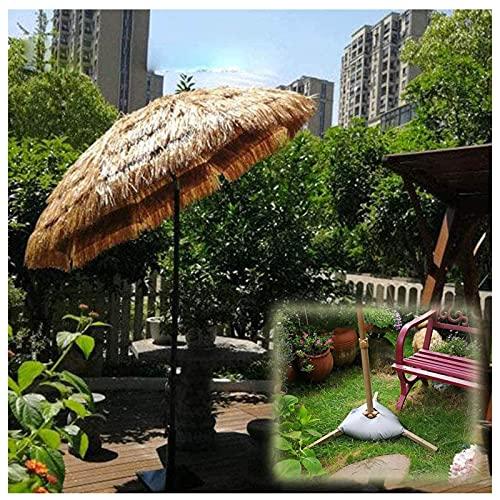 WXHXJY Parasol,Sombrilla De Paja Hula Estilo Hawaiano, Sombrilla De Mesa De Terraza De JardíN, Sombrilla PortáTil, Sombrilla De Exterior