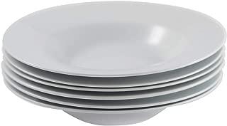 Amuse- Professional Gourmet Porcelain Pasta Plate- Set of 6 (Pasta Plate)