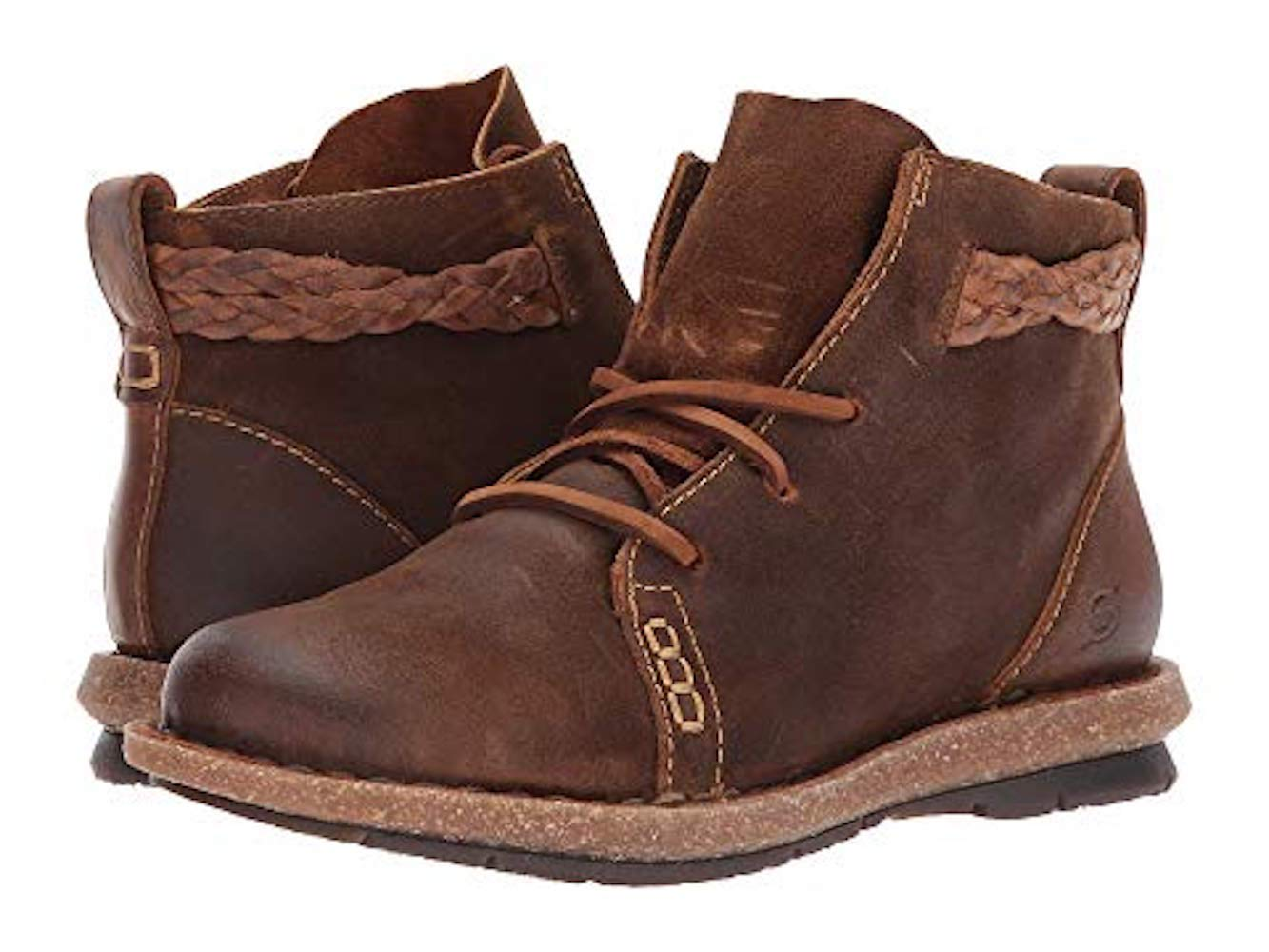 BORN Temple Women's Boot 9.5 Ranking TOP5 Clearance SALE Limited time B M US Rust