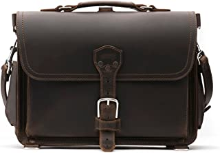 Saddleback Leather Co. Slim Full Grain Leather 15-inch Laptop Computer Bag Includes 100 Year Warranty