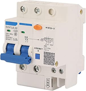 Circuit Breaker DZ47LE-32 2P+2 20A 230V Miniature Residual Current Circuit Breaker Leakage Protection Hand Automatic