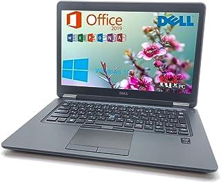ノートパソコン SSD 中古ノートPC MS Office 2019搭載・Windows 10搭載,【Latitude E7450】 Windows 10搭載 Core i5 -5200U 第5世代 8GB SSD 256GB WIFI SDカ...