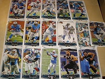 2014 Topps Detroit Lions 16 Card Complete Team Set Shipped in an Acrylic Case - Includes: Caraun Reid, Kyle Van Noy, Eric Ebron, Ezekiel Ansah, Ndamukong Suh, Detroit Lions, Calvin Johnson, Joseph Fauria, Reggie Bush, Theo Reddick, Nick Fairley, Golden Ta