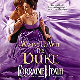 Waking up with the Duke audiobook cover art