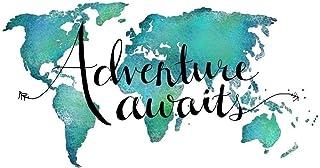 Motivational Travel Quotes Pictures Aventures Wanderlust Wall Art Bedroom Prints