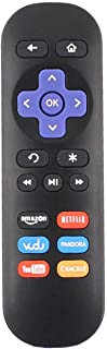 Allimity Replacement Remote Control fit for Roku Streaming Player 4/3/2/1 LT HD XD XS Telstra TV & TV2 with Amazon Netflix...