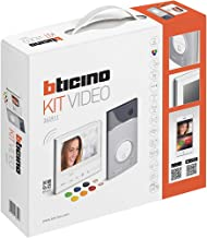 Legrand-Bticino, Videoportero, Wifi, 7 pulgadas, Intercomunicación, Monitor Color, cámara, Manos libres, IP54, 2 Hilos, ca...