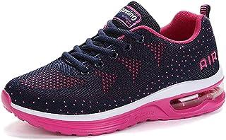 comprar comparacion Zapatillas de Deporte con Cojines de Aire Calzado de Running Net para Estudiante Volar Zapatos Tejidos Zapatillas Deportiv...