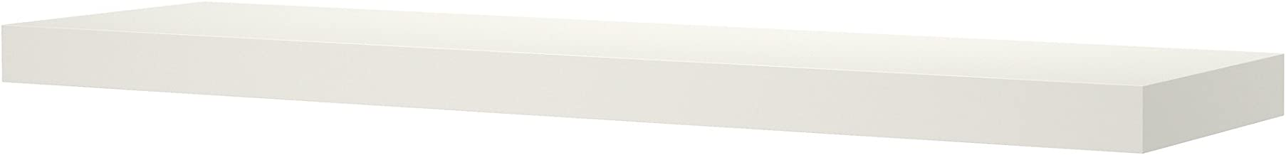 Torix floating Shelf white Size : 60 Cm X 20 Cm X 4 Cm Wall Decor Shelves High Gloss wooden stand wall