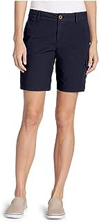 Eddie Bauer Women's Adventurer Stretch Ripstop Cargo Shorts - Slightly Curvy