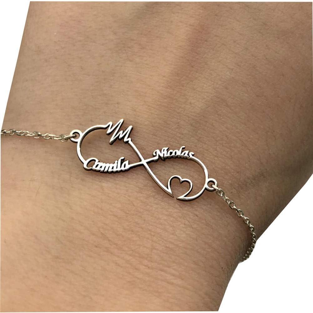 Silver infinity bracelet,initial heart bracelet,personalized bracelet,couple monograms,custom birthstone,bridesmaid gift,wedding jewelry