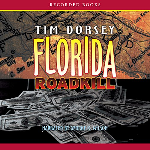 Florida Roadkill audiobook cover art