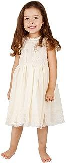 Best girls cream dress Reviews