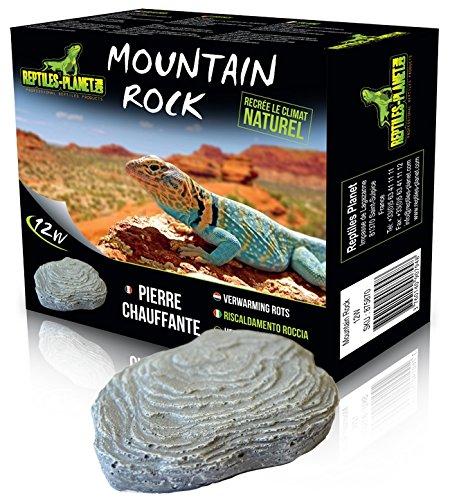 Reptiles Planet Mountain Rock - Piedra calefactora para Rept