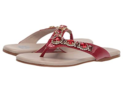 Amiana 12-103 (Toddler/Little Kid/Big Kid/Adult) (Red Patent) Girl