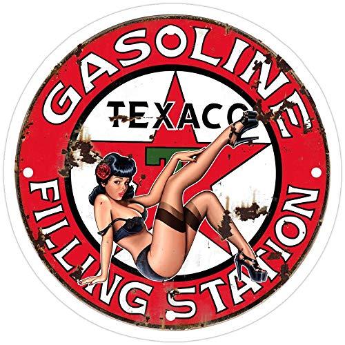 rangerpolocon Texaco Retro Sign Stickers (3 Pcs/Pack) 4967558344050