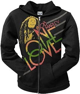 Zion Rootswear Bob Marley One Love Smile Hoodie