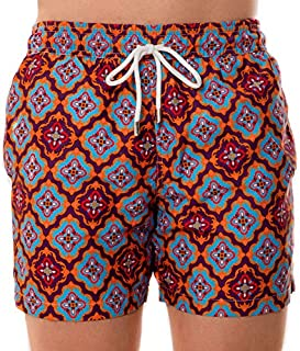 Men's Classic Fit Premium Swim Trunks Quick Dry Bathing Suit with Lining (Regular and Extended Sizes)