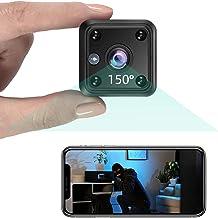 TeamMe Mini Kamera 1080P HD WLAN IP Kamera mit Akk Videoanrufkamera Nanny..