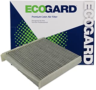 ECOGARD XC45508C Cabin Air Filter with Activated Carbon Odor Eliminator - Premium Replacement Fits Volvo models with AQS (Air Quality System) - XC90, S60, V70, S80, XC70, C70