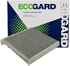 ECOGARD XC45508C Cabin Air Filter with Activated Carbon Odor Eliminator - Premium Replacement Fits Volvo XC90, S60, V70, S80, XC70, C70