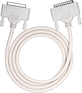 25Pin DB25 Printer Extending Cable 1.4m Computer Parallel Extension Cord 4.6ft M-F Cable 25Pin DB25 Parallel Male to Female LPT Printer Connection Line 25 Pin LPT