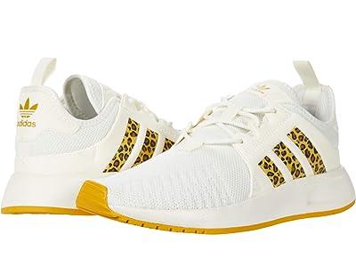 adidas Originals Kids X_PLR J (Big Kid) (Off-White/Legacy Gold/Pyrite) Girls Shoes