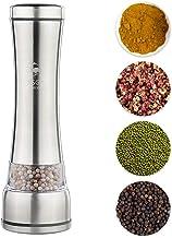 Goolsky Salt Pepper Grinder Pepper Mill Spice Sauce Muller Pepper Shaker Mill Salt Grinder Manual Grinding Tool Gadget Adj...