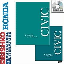 bishko automotive literature Shop Service Repair Manual CD Engine Wiring for 1996 1997 1998 1999 2000 Honda Civic