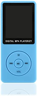 MP3 Player 64 GB Music Player 1.8'' Screen Portable MP3 Music Player with FM Radio Voice Recorde for Kids Adult