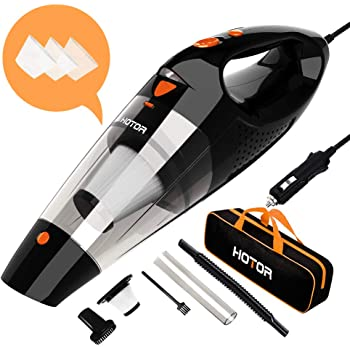 5M Cord and Carrying Bag for All Vehicles Banaton Car Vacuum Cleaner 5000PA 106W 12V Car Vacuum with LED Light Low Noise Wet and Dry Use Auto Vacuum Cleaner with 16.4FT