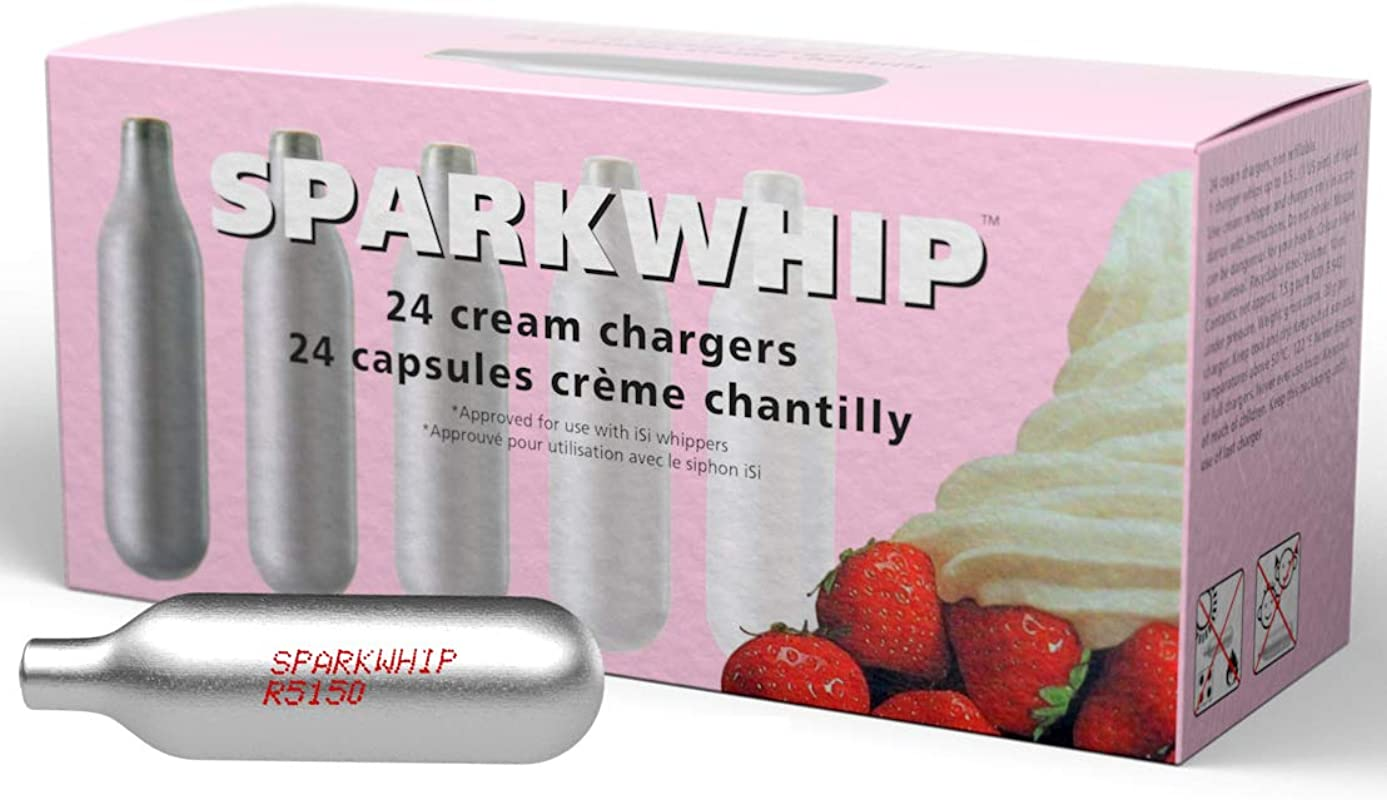 Sparkwhip By ISi Whipped Cream Chargers 600 Pack Case 25 Boxes Of 24 Wholesale Pricing