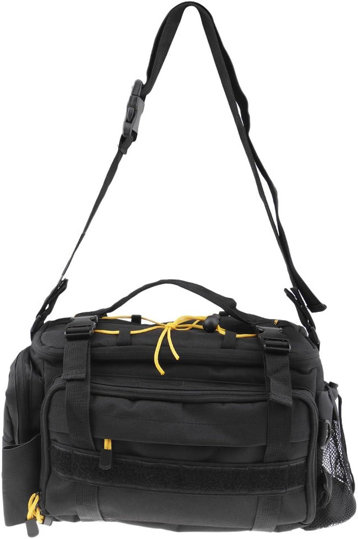 D DOLITY Sea Carp Fly Fishing Bag Tackle Storage 600D Waterproof Waist Shoulder Carry