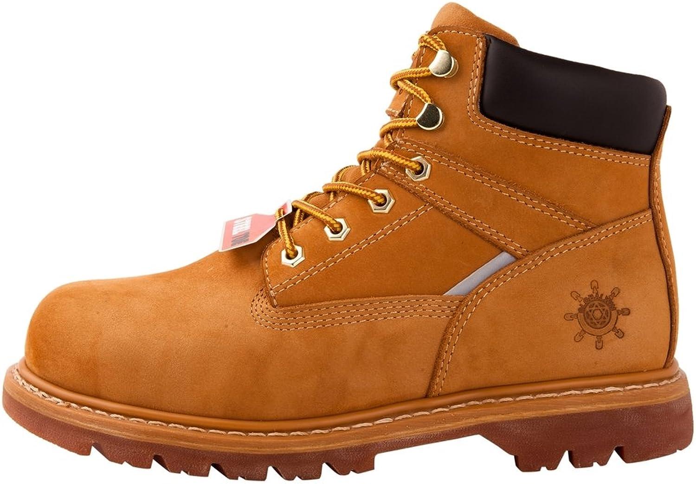 KINGSHOW GW Men's 1606ST Steal Toe Work Boots
