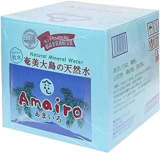 奄美大島の天然水 あまいろ 20L バッグインボックス (BIB) ミネラルウォーター 軟水 九州 鹿児島 奄美 水