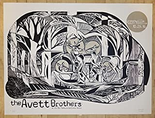 david hale avett brothers poster