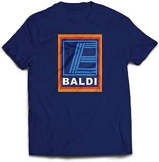 Baldi T-Shirt - Funny Novelty Supermarket Bald Mens Hilarious Tee Top Dads