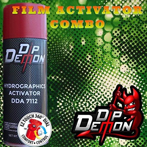 Combo Kit Green Snake Animal Reptile Skin Hydrographic Water Transfer Film Activator Combo Kit Hydro Dipping Dip Demon