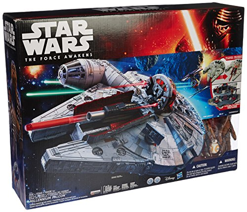 Hasbro Starwars Battle-Action Millenium Falcon