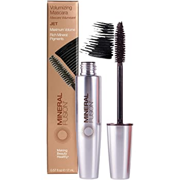 Mineral Fusion Volumizing Mascara, Jet, 0.57 oz (Packaging May Vary)