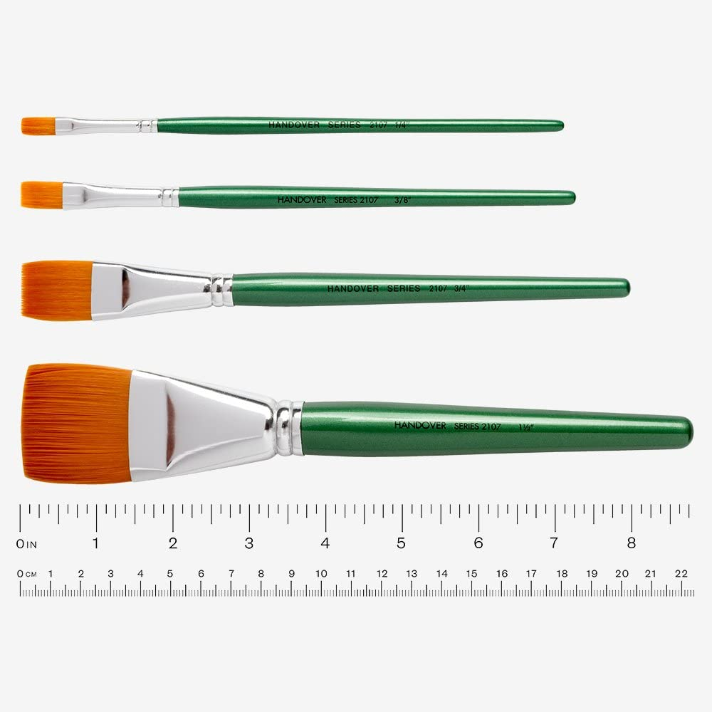 Handover : Series 2107 Synthetic Flat Tampa Mall Stroke Store One H Brush Green