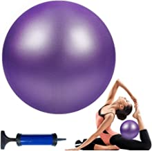 Wekin Yoga Mini Stability Ball 9 Inch Exercise Pilates Ball for Back Foot Neck Spine Shoulder Physical Trigger Point Therapy, Improves Balance, Core Strength
